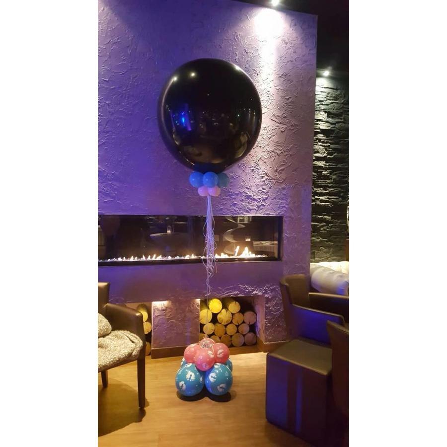 7fb1b10728eb57 Gender Reveal Ballon Deluxe - Zorg voor Party online feestartikelen ...