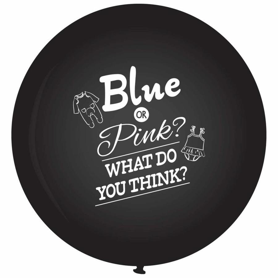 Gender Reveal Ballon Deluxe-2
