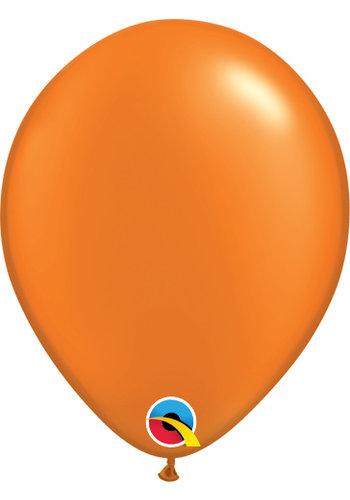 """11"""" Metallic Oranje - 28cm - 100 stuks"""