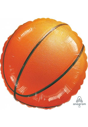Folieballon basketbal - 45cm