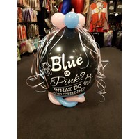 Gender Reveal Ballon - Blue or Pink What do you think?