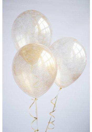 """11"""" Glitter ballon"""