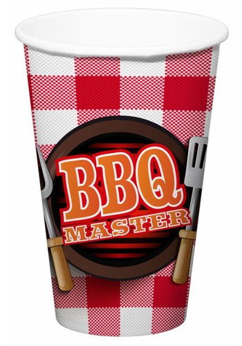 BBQ Master Bekers XL - 700ml - 8 stuks