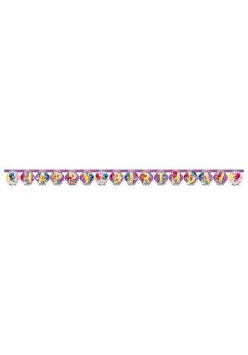 Letterbanner Shimmer & Shine - 200x15cm