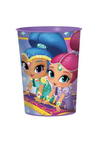 Plastic Cup Shimmer & Shine - 473ml