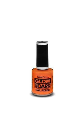 Nagellak Glow In The Dark - Rood/Oranje