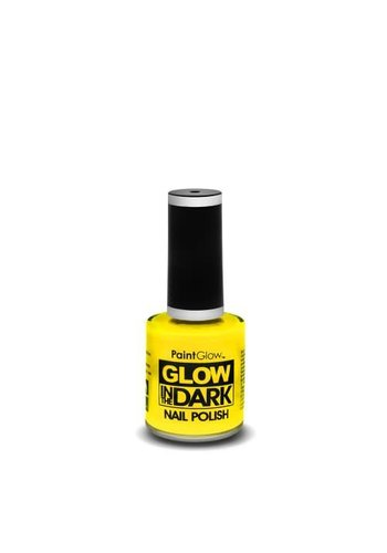 Nagellak Glow In The Dark - Geel