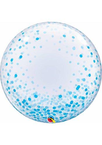 Deco Bubble Confetti Dots Blue - 55cm