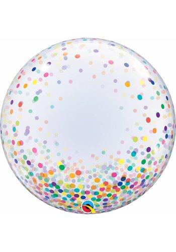 Deco Bubble Confetti Dots Colorful - 55cm