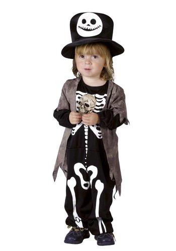 Kinderkostuum Skully rascal - 3-4 jaar