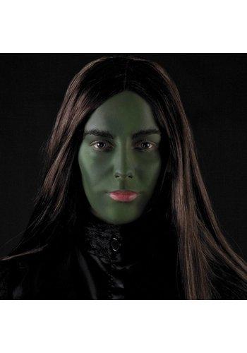 Make-up kit Heks - heksenneus, vetschmink, spons en applicator