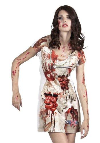 Fotorealistische jurk Zombie bride