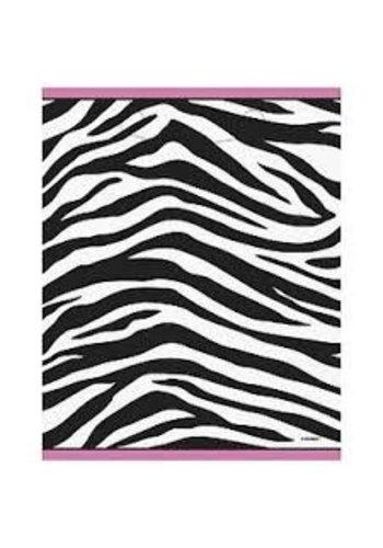 Zebra feestzakjes - 8 stuks