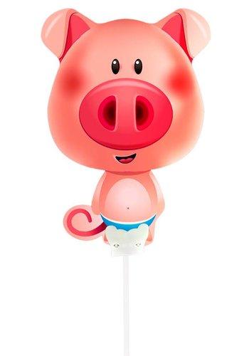 Mini luchtgevuld Folieballonnen - Varkentje