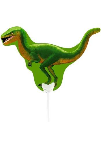 Mini luchtgevuld Folieballonnen - Dino