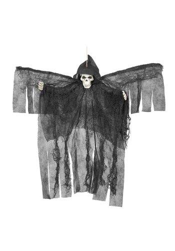 Decoratie pop - Flying skull demon - 50cm