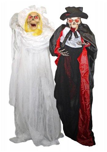 Decoratie poppen - bruid en Bruidegom - 160cm