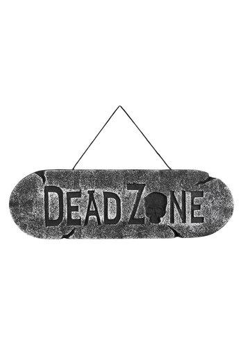 Wegwijzer Dead Zone - 15x48cm