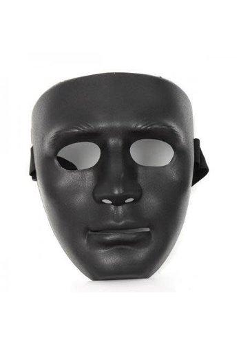 Masker Black Face - Plastic