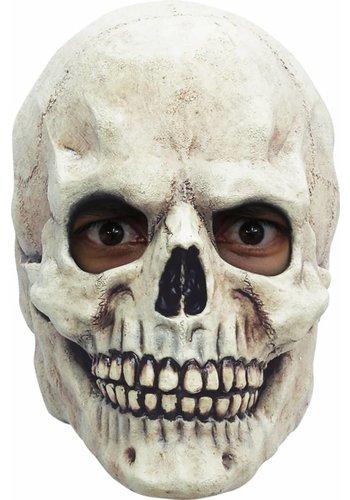 Latex Masker Skull White