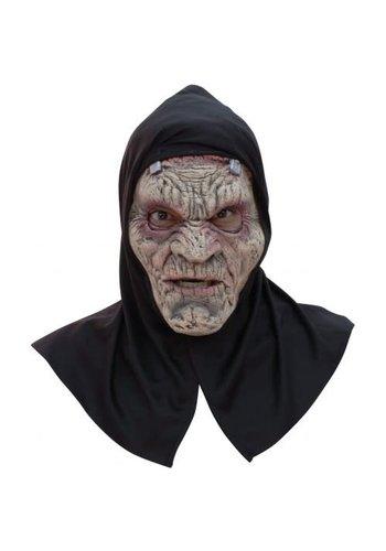 Latex Masker - Frankenstein met kap