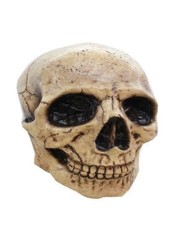 Latex Masker - Skull Donker