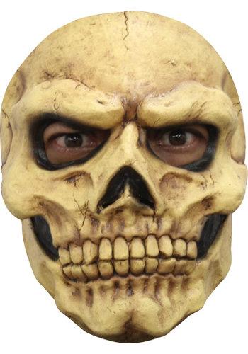 Latex Masker - Skull Tan