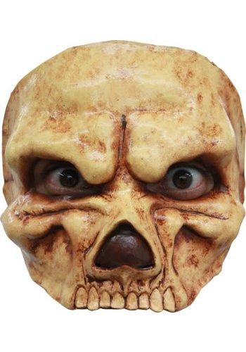 Latex Half Masker - Skull