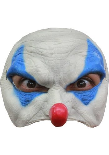 Latex Half Masker - Clown