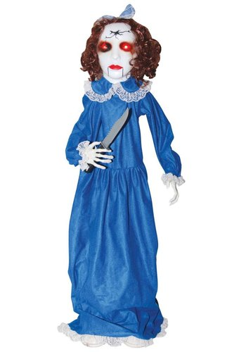 Porch Squatter Zombie Girl - 123cm