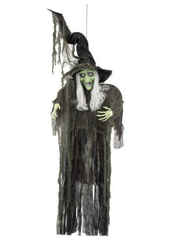 Decoratie Evil witch - 190 cm