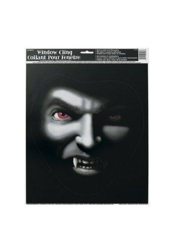 Raamsticker Vampier - 34x27cm