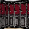 2 Scene Setter Rolls Gothic Mansion - 6 x 1,2 m