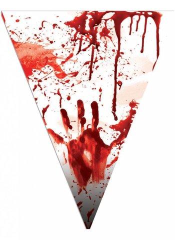 Vlaggenlijn Bloedlust - 5 Mtr - 10 Vlaggen