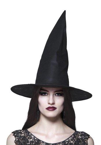 Hoed Heks Ursula - zwart