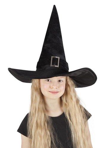 Kinderhoed Heks Kendra - zwart