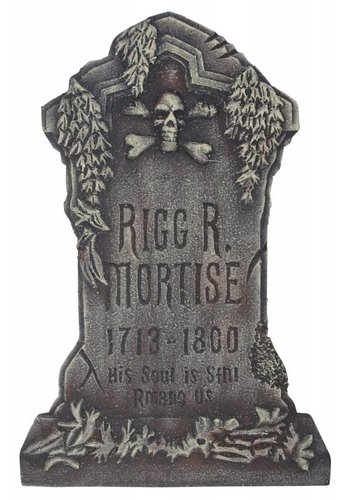 Rigg R Mortise Tombstone -  84 X 51 X 3 CM