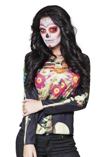 Fotorealistisch shirt Calaca - M/L