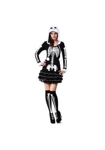 Sassy Skeleton - 2 Delig - Maat S