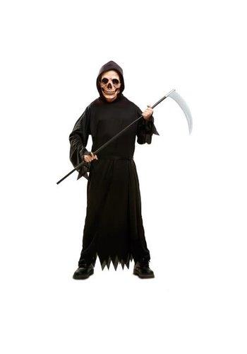 Creepy Death Robe - maat 5-6 jaar