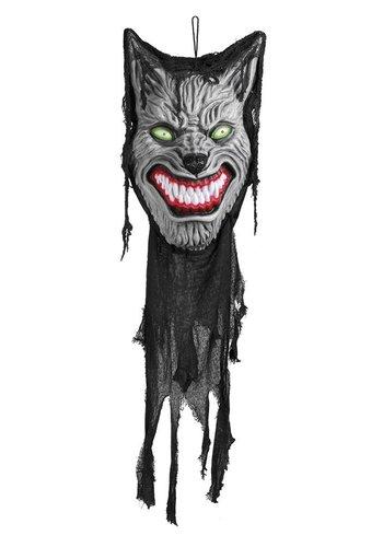 Decoratie Howling werewolf - 130 cm