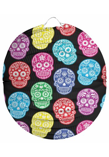 Lampion Day of the Dead - 22 cm