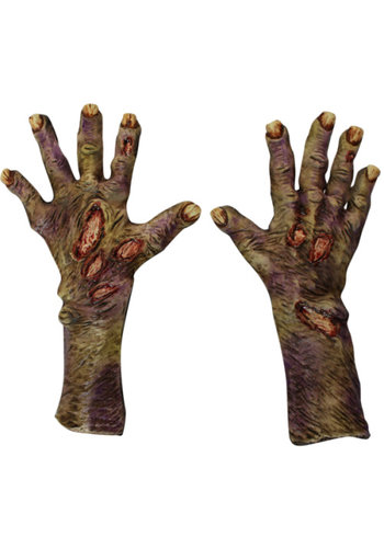Zombie Rotted Large Gloves
