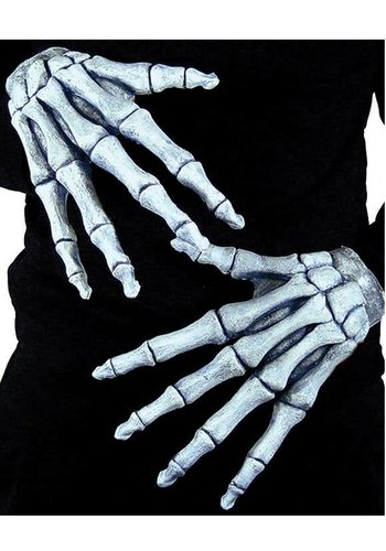Skeleton Gloves with Arm