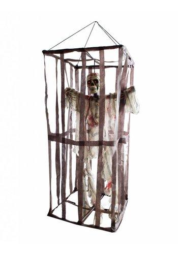 Skelet in kooi - 100 cm