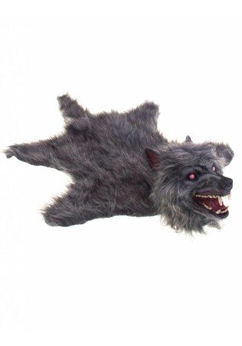 Tapijt Weerwolf met licht en geluid - 75 cm