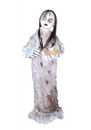 Hanging Doll Holding Bear - 90 cm