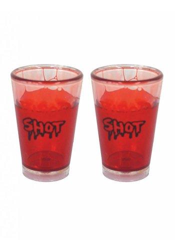 Shotglas Bloed - 7 cm
