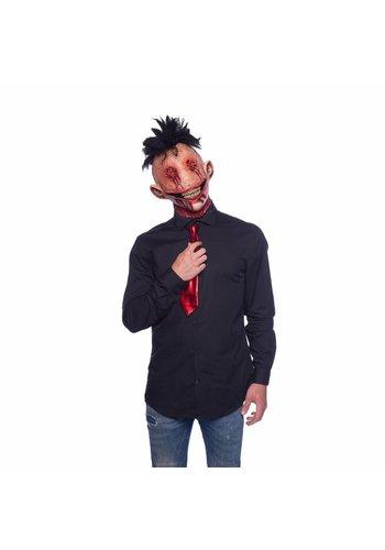 Latex masker Halloween Hanenkam