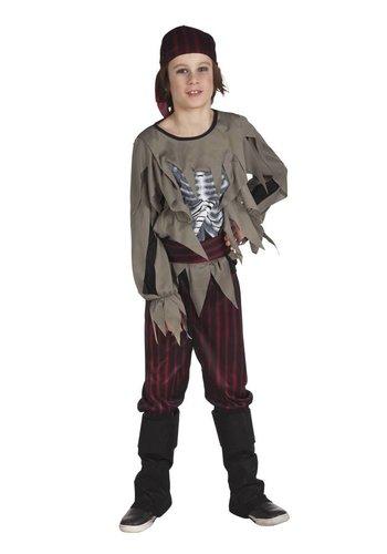 Kinderkostuum Zombie pirate